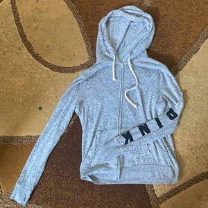 PINK grey Lightweight Jacket coverup